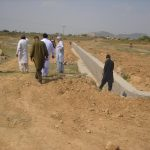Chairman and R.D. Inspecting Development Work